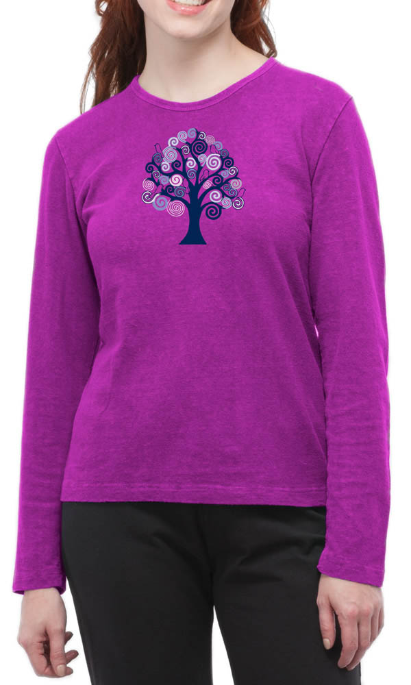 Tree Of Life on Long Sleeve Top