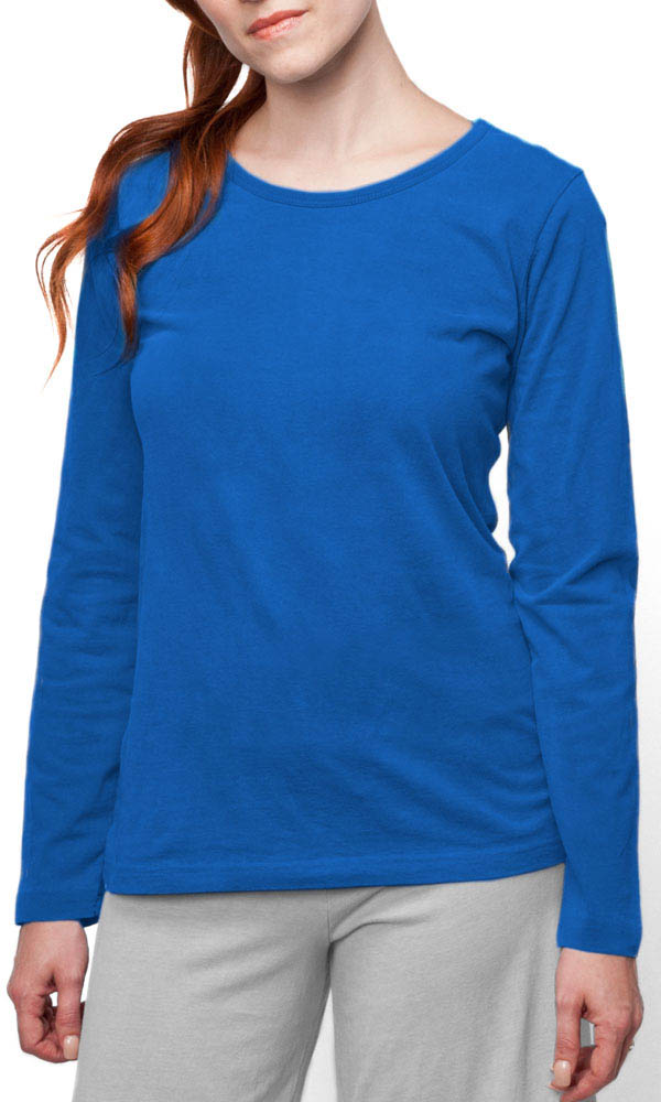 Long Sleeve Ladies Contour Tee
